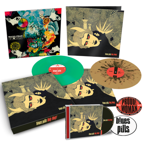 Holy Moly! (Ltd. Vinyl Box) von Blues Pills - LP Box jetzt im Blues Pills Shop