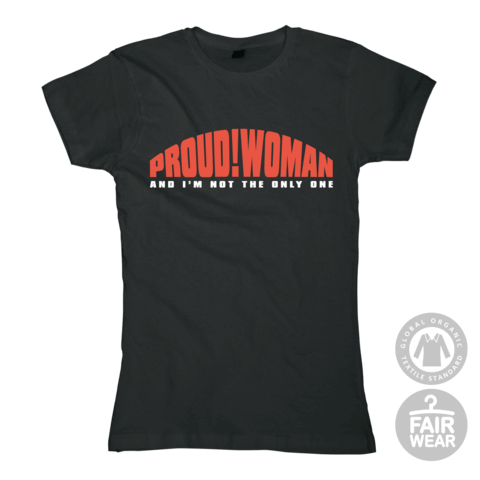 Proud! Woman von Blues Pills - Girlie Shirt jetzt im Blues Pills Shop
